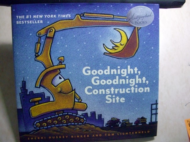 Image for Goodnight, Goodnight Construction Site