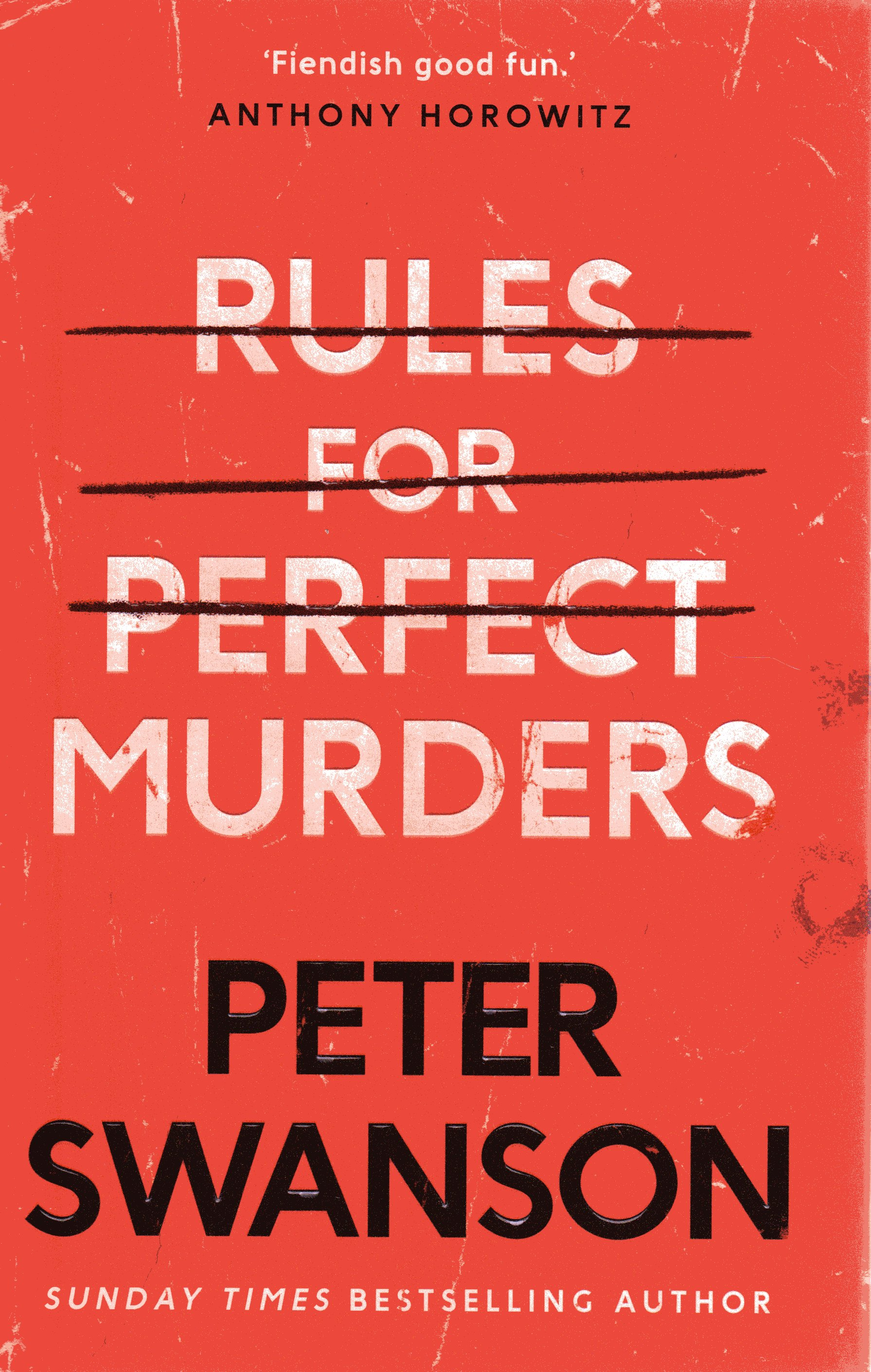 Image for Rules for Perfect Murders