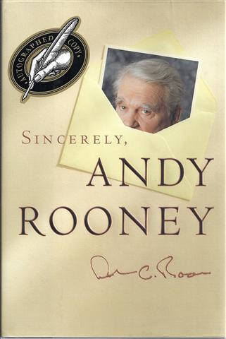 Image for Sincerely, Andy Rooney