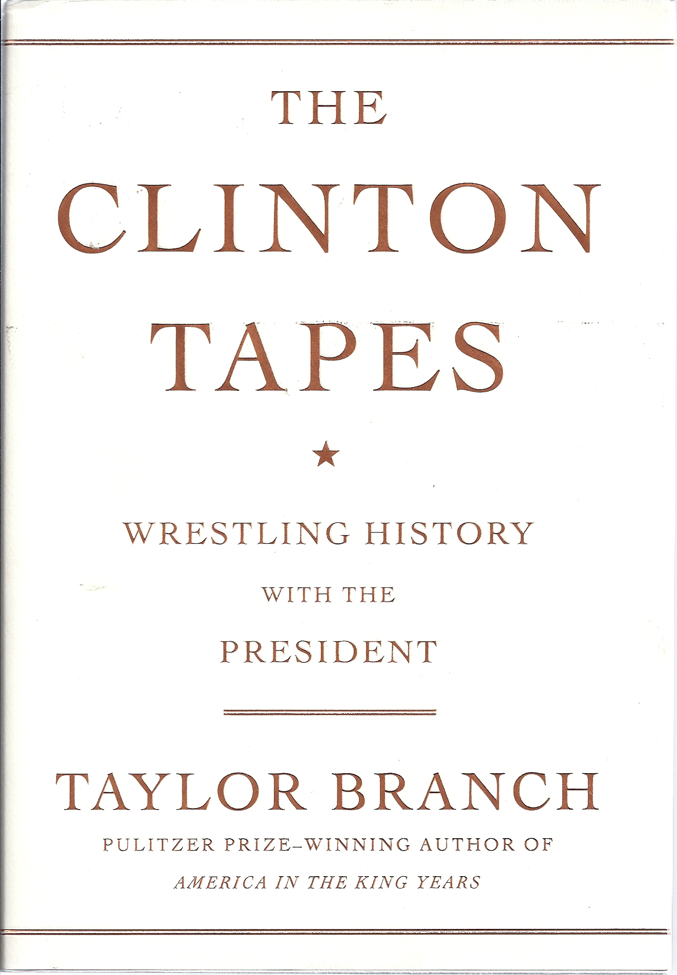 Image for The Clinton Tapes